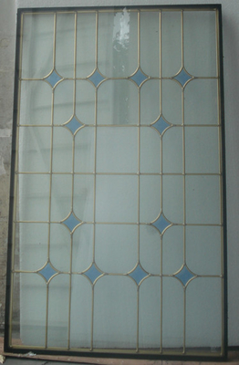 China low price  decorative glass panel for windows /doors supplier
