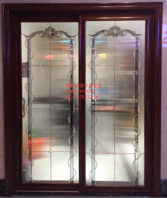 China antique brass decorative glass panel supplier