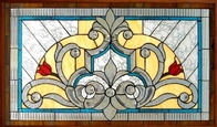 """tempered stained glass for windows 1""""thickness"""