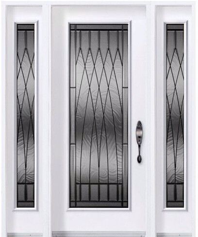 Cheap price decorative panel made in china for wooden for French doors exterior cheap