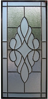 patina caming triple glass panel of  new design