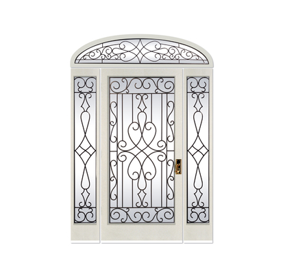 export-oriented Wrought iron glass