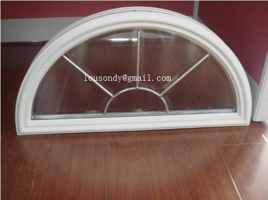 triple glass panels with frames in doors
