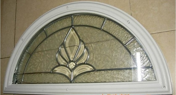 decorative  glass panel with PP material  frame